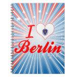 I Love Berlin, Massachusetts Notebook