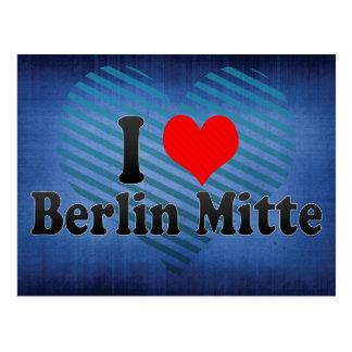 I Love Berlin Mitte, Germany Post Card