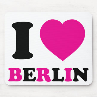 I Love Berlin Mouse Pad