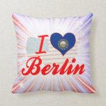I Love Berlin, New Hampshire Pillows