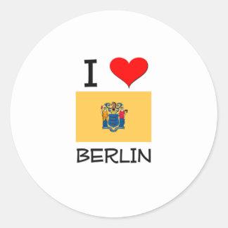 I Love Berlin New Jersey Sticker