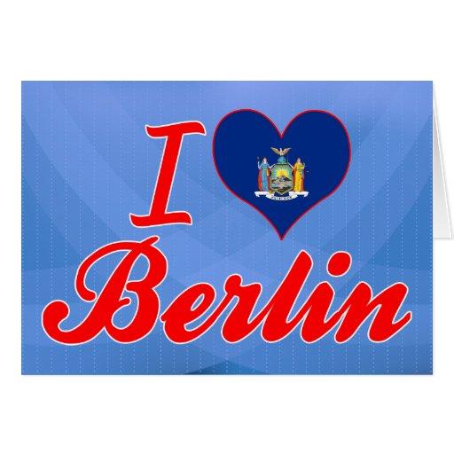 I Love Berlin, New York Card