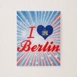 I Love Berlin, New York Jigsaw Puzzle