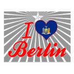 I Love Berlin, New York Post Cards