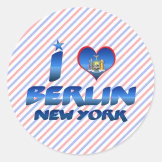 I love Berlin, New York Sticker