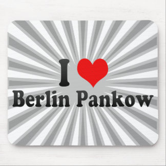 I Love Berlin Pankow, Germany Mouse Pad