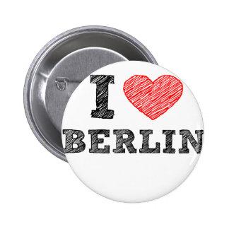 I Love Berlin Pinback Button