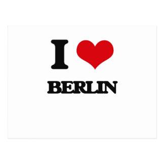 I love Berlin Post Card