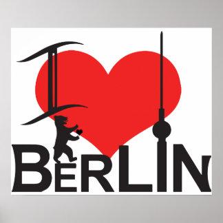 I Love Berlin poster