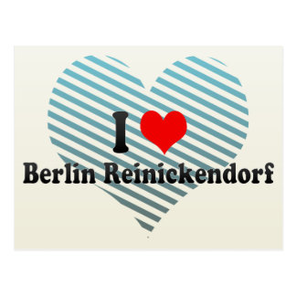 I Love Berlin Reinickendorf, Germany Postcards