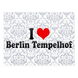 I Love Berlin Tempelhof, Germany Postcards