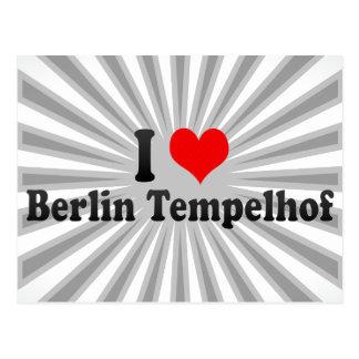 I Love Berlin Tempelhof, Germany Postcard