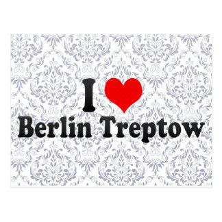 I Love Berlin Treptow, Germany Postcards