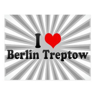 I Love Berlin Treptow, Germany Post Card