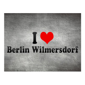 I Love Berlin Wilmersdorf, Germany Post Cards