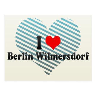 I Love Berlin Wilmersdorf, Germany Postcards