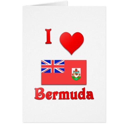 I Love Bermuda Card