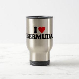 I LOVE BERMUDA MUGS