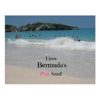 I love Bermuda's Pink Sand! Postcard