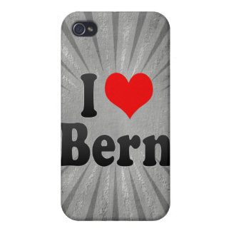 I Love Bern, Switzerland iPhone 4/4S Cover