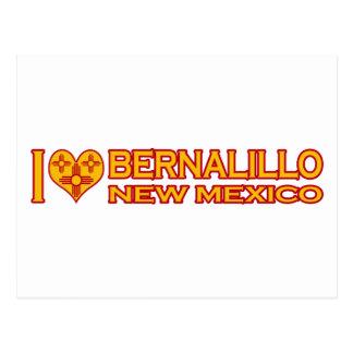 I Love Bernalillo, NM Postcard