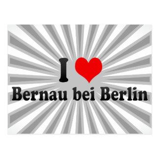 I Love Bernau bei Berlin, Germany Post Cards