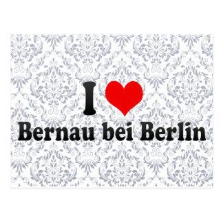 I Love Bernau bei Berlin, Germany Postcards