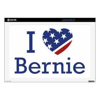 I Love Bernie Laptop Skin