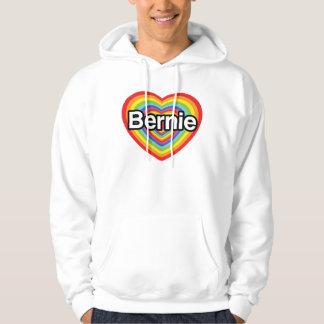 I love Bernie Sanders Hoodie