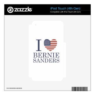 I Love Bernie Sanders iPod Touch 4G Skin
