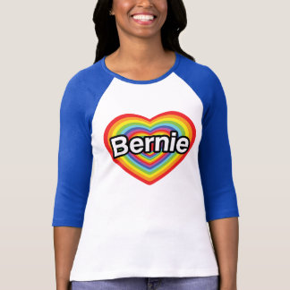 I love Bernie Sanders T-Shirt