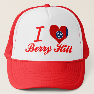 I Love Berry Hill, Tennessee Trucker Hat