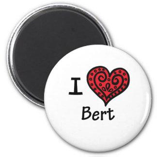 I Love Bert (I Heart Bert) Magnet