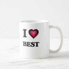 I Love Best Coffee Mug