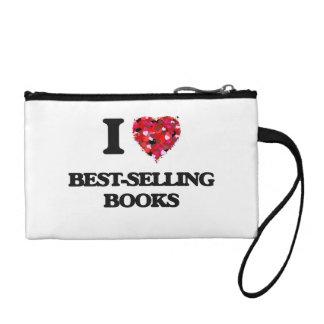 I Love Best-Selling Books Change Purse