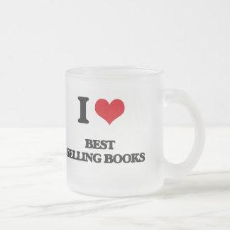 I Love Best-Selling Books Coffee Mug