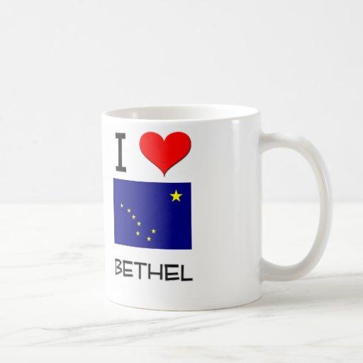 I Love BETHEL Alaska Classic White Coffee Mug