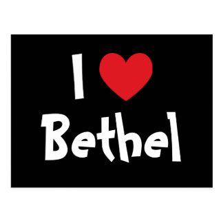 I Love Bethel Postcard