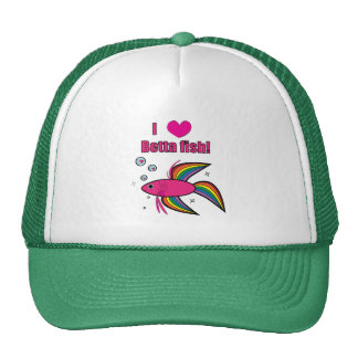 I love Betta fish! Trucker Hat