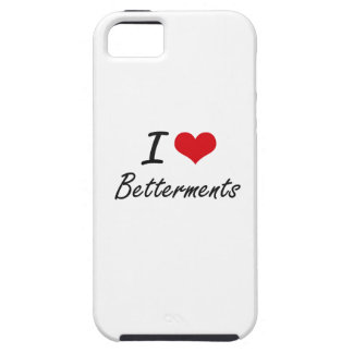 I Love Betterments Artistic Design iPhone 5 Covers