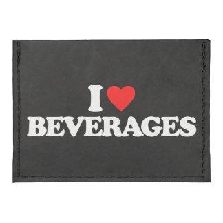 I LOVE BEVERAGES CARD WALLET