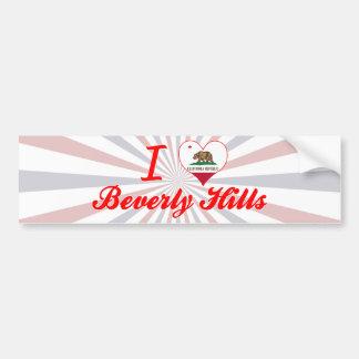 I Love Beverly Hills, California Bumper Stickers