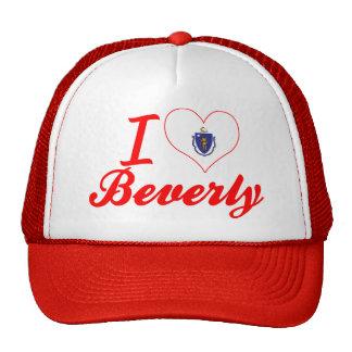 I Love Beverly, Massachusetts Trucker Hat