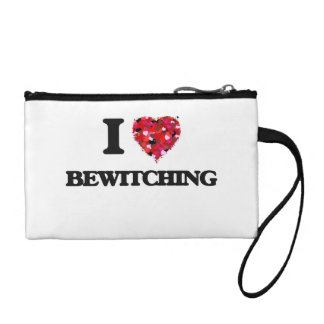 I Love Bewitching Coin Purse