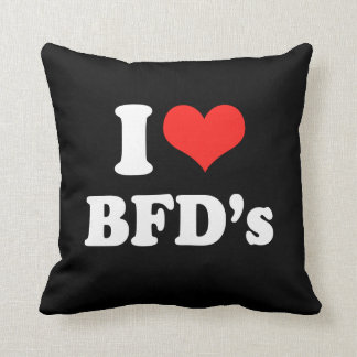 I LOVE BFD'S.png Pillows