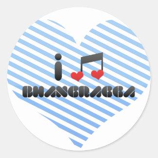 I Love Bhangragga Sticker