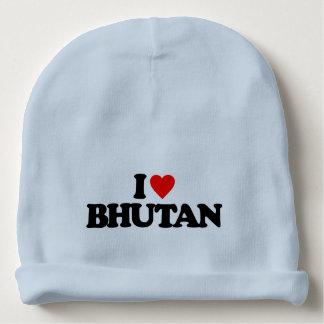 I LOVE BHUTAN BABY BEANIE
