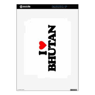 I LOVE BHUTAN SKIN FOR iPad 2