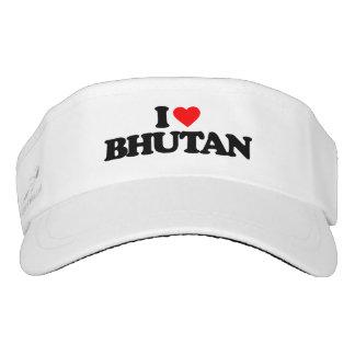 I LOVE BHUTAN VISOR