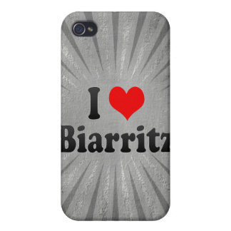 I Love Biarritz France iPhone 4/4S Covers